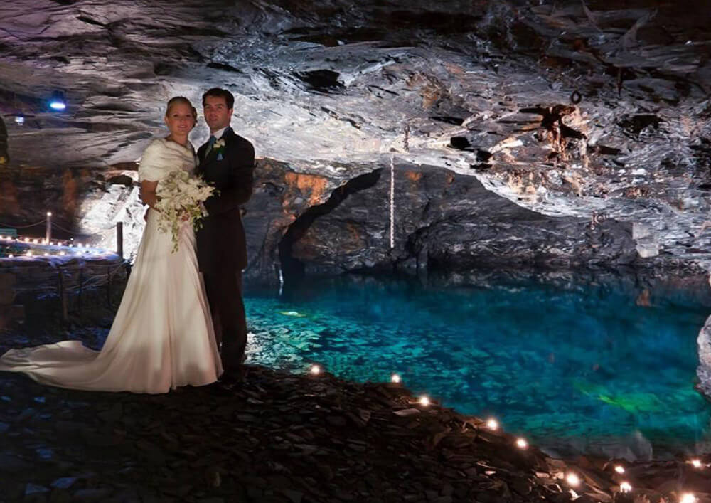 Carnglaze Caverns - Weddings in Cornwall